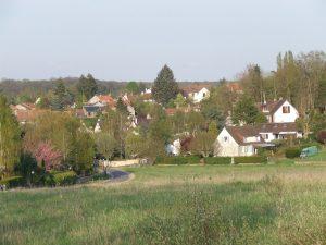 Auffargis - quartier du Feu de St. Jean